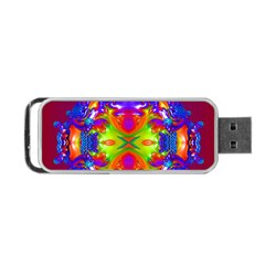 Abstract 6 Portable Usb Flash (two Sides) by icarusismartdesigns