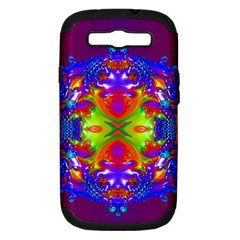 Abstract 6 Samsung Galaxy S Iii Hardshell Case (pc+silicone)
