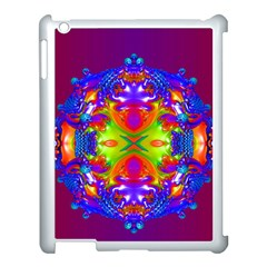 Abstract 6 Apple Ipad 3/4 Case (white) by icarusismartdesigns