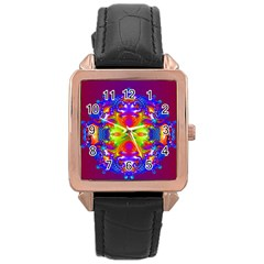 Abstract 6 Rose Gold Watches by icarusismartdesigns