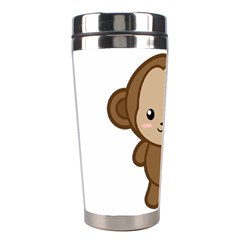 Kawaii Monkey Stainless Steel Travel Tumblers by KawaiiKawaii