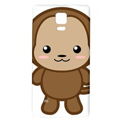 Kawaii Monkey Galaxy Note 4 Back Case by KawaiiKawaii