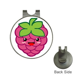 Raspberry Hat Clips With Golf Markers by KawaiiKawaii