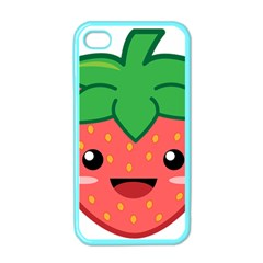 Kawaii Strawberry Apple Iphone 4 Case (color)