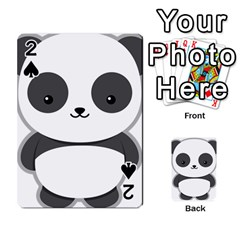Kawaii Panda Playing Cards 54 Designs  by KawaiiKawaii