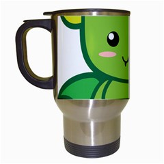 Kawaii Dragon Travel Mugs (white) by KawaiiKawaii