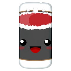 Kawaii Sushi Samsung Galaxy S3 S Iii Classic Hardshell Back Case by KawaiiKawaii