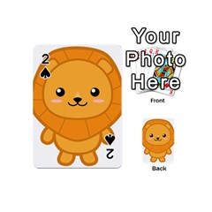 Kawaii Lion Playing Cards 54 (mini)  by KawaiiKawaii