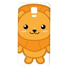 Kawaii Lion Galaxy Note 4 Back Case by KawaiiKawaii