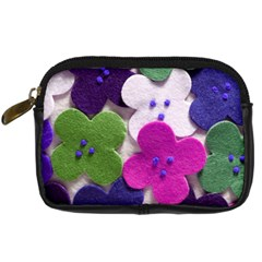 Cotton Flower Buttons  Digital Camera Cases