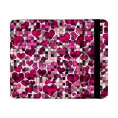 Hearts And Checks, Pink Samsung Galaxy Tab Pro 8 4  Flip Case by MoreColorsinLife