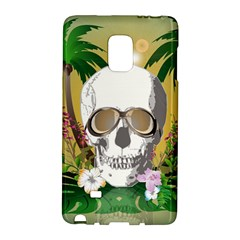 Funny Skull With Sunglasses And Palm Galaxy Note Edge by FantasyWorld7