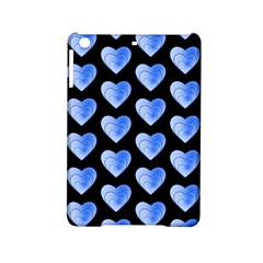 Heart Pattern Blue Ipad Mini 2 Hardshell Cases by MoreColorsinLife