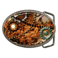Steampunk In Noble Design Belt Buckles
