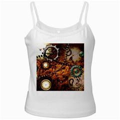 Steampunk In Noble Design Ladies Camisoles by FantasyWorld7