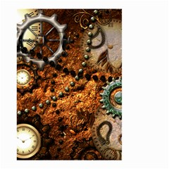 Steampunk In Noble Design Small Garden Flag (two Sides) by FantasyWorld7