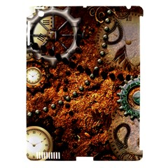 Steampunk In Noble Design Apple Ipad 3/4 Hardshell Case (compatible With Smart Cover) by FantasyWorld7
