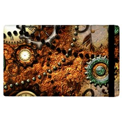 Steampunk In Noble Design Apple Ipad 2 Flip Case by FantasyWorld7