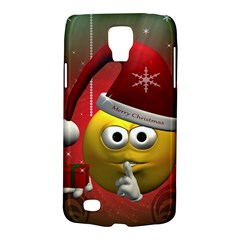 Funny Christmas Smiley Galaxy S4 Active by FantasyWorld7
