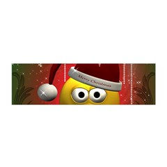 Funny Christmas Smiley Satin Scarf (oblong)