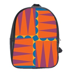 Angles School Bag (xl) by LalyLauraFLM