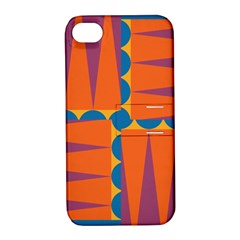 Angles Apple Iphone 4/4s Hardshell Case With Stand by LalyLauraFLM