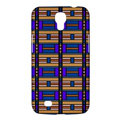Rectangles And Stripes Pattern Samsung Galaxy Mega 6 3  I9200 Hardshell Case by LalyLauraFLM