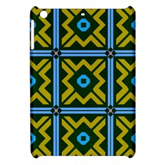 Rhombus In Squares Pattern Apple Ipad Mini Hardshell Case by LalyLauraFLM
