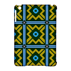 Rhombus In Squares Pattern Apple Ipad Mini Hardshell Case (compatible With Smart Cover) by LalyLauraFLM