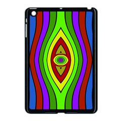 Colorful Symmetric Shapes Apple Ipad Mini Case (black) by LalyLauraFLM
