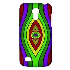 Colorful Symmetric Shapes Samsung Galaxy S4 Mini (gt I9190) Hardshell Case  by LalyLauraFLM
