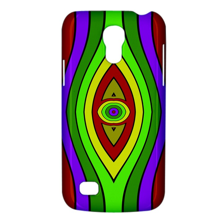 Colorful symmetric shapes Samsung Galaxy S4 Mini (GT-I9190) Hardshell Case