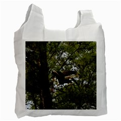 Bald Eagle Recycle Bag (two Side)  by timelessartoncanvas