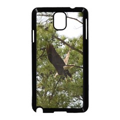 Bald Eagle 2 Samsung Galaxy Note 3 Neo Hardshell Case (black) by timelessartoncanvas