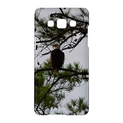 Bald Eagle 3 Samsung Galaxy A5 Hardshell Case  by timelessartoncanvas