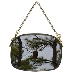 Bald Eagle 4 Chain Purses (two Sides)