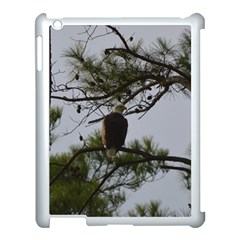 Bald Eagle 4 Apple Ipad 3/4 Case (white) by timelessartoncanvas