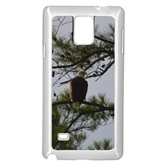 Bald Eagle 4 Samsung Galaxy Note 4 Case (white) by timelessartoncanvas