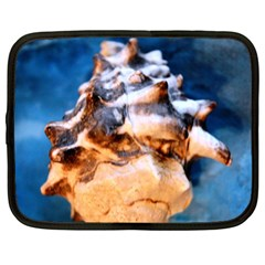 Sea Shell Spiral Netbook Case (xl)  by timelessartoncanvas