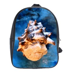 Sea Shell Spiral School Bags(large)  by timelessartoncanvas