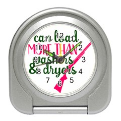 I Can Load More Than Washers And Dryers Travel Alarm Clocks by CraftyLittleNodes