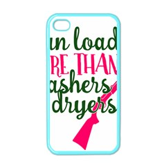 I Can Load More Than Washers And Dryers Apple Iphone 4 Case (color) by CraftyLittleNodes