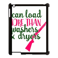 I Can Load More Than Washers And Dryers Apple Ipad 3/4 Case (black) by CraftyLittleNodes