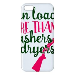 I Can Load More Than Washers And Dryers Iphone 5s Premium Hardshell Case by CraftyLittleNodes