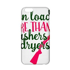I Can Load More Than Washers And Dryers Apple Iphone 6/6s Hardshell Case by CraftyLittleNodes
