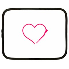 Customizable Shotgun Heart Netbook Case (large)	 by CraftyLittleNodes