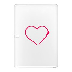 Customizable Shotgun Heart Samsung Galaxy Tab Pro 10 1 Hardshell Case by CraftyLittleNodes