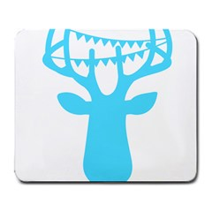 Party Deer With Bunting Large Mousepads by CraftyLittleNodes