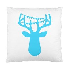 Party Deer With Bunting Standard Cushion Cases (two Sides)  by CraftyLittleNodes