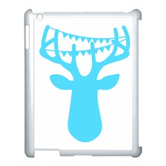 Party Deer With Bunting Apple Ipad 3/4 Case (white) by CraftyLittleNodes